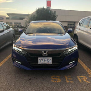 2018 Honda Accord Sport +extra ( Lease takeover) **BEST DEAL**