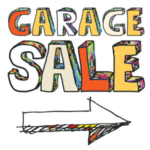 Garage Sale:    567 Stonehenge Dr. Ancaster Sept 8 8am-12pm