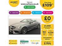 Mercedes-Benz E220 FROM £109 PER WEEK!