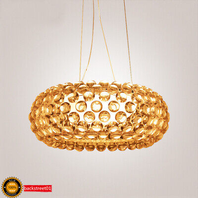 New Amber Foscarini Caboche Ball Pendant Lamp Ceiling Light Chandelier Dining ()