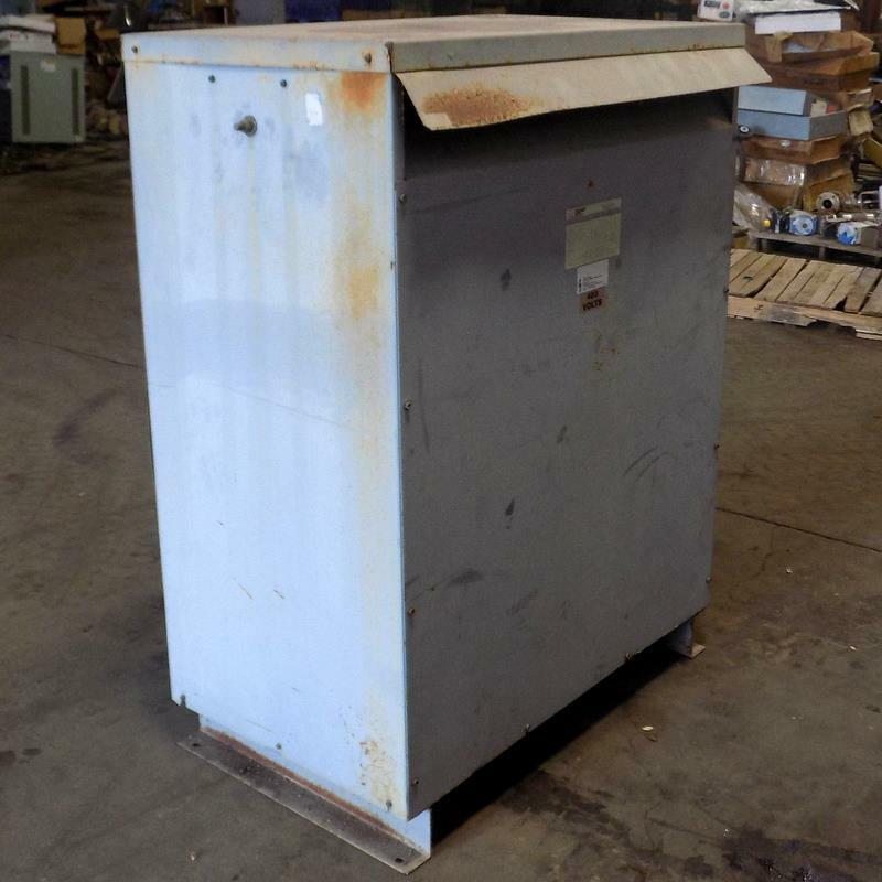 FEDERAL PACIFIC 3PH 480 TO 208Y/120V 225KVA TRANSFORMER T4T225