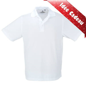 ★liquidation lot 500 CHANDAILS POLO Blanc neuf de qualité★