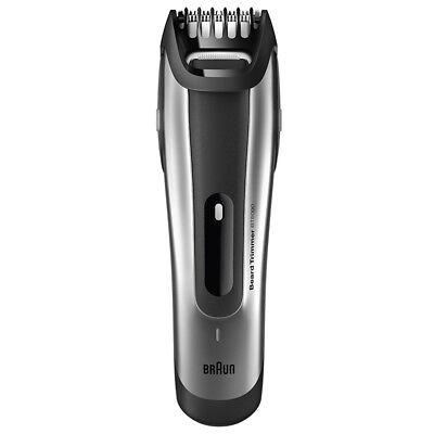 Braun Bartschneider und Trimmer BT5090 silber abwaschbar NEU ()