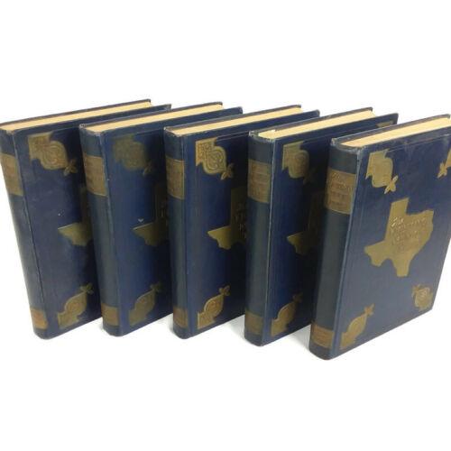 The Fighting Men of Texas, 5 Volume Set, KIA Dedication WWII Unit History Books