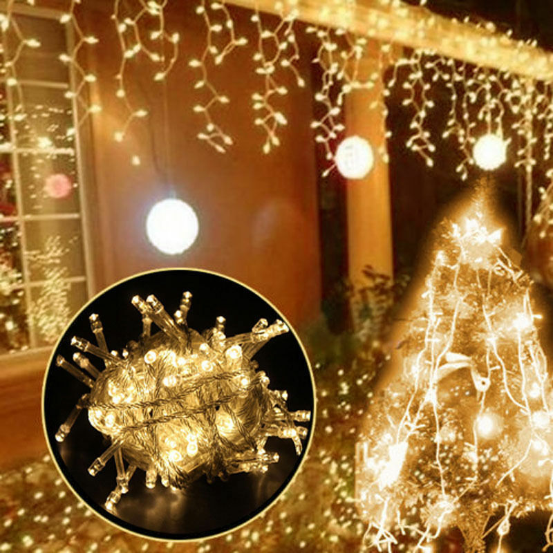 10M 100 LED Christmas Wedding Xmas Party ...