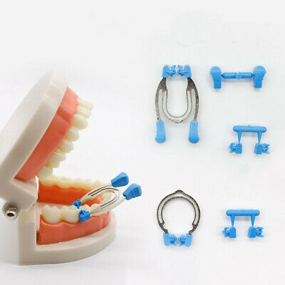 Dental Sectional Contoured Matrix Clip Matrices Clamps Wedges Kit 121c Durable