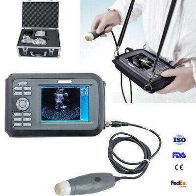 Portable Wristscan Ultrasound Scanner Machine Handscan Farm Animal Vetprobe Fda