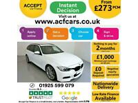 2013 WHITE BMW 330D TOURING 3.0 M SPORT DIESEL AUTO CAR FINANCE FR £273 PCM
