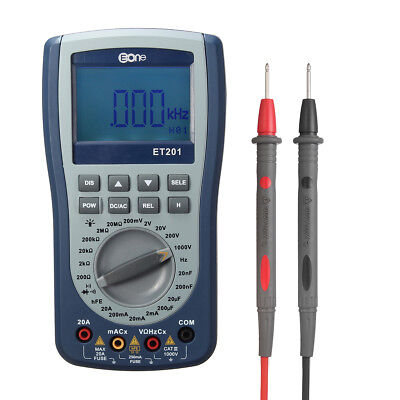 Handheld Storage Oscilloscope Multimeter 2IN1 Most Intelligent Multimeter ET201