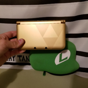 NINENDO GOLD ZELDA 3DS & GAMES