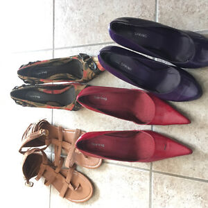 4 pairs of shoes for $50