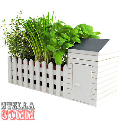 Indoor Garden Allotment Plant Pot Planter Herb Window Box