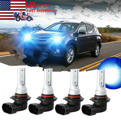 LED Projector Headlights Bulbs Kit For Chevy Pickup Truck 1500 2500 3500
