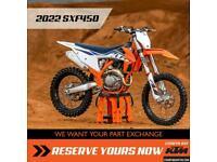 2022 KTM SXF450 COMING SOON Motocross Four Stroke SXF450 450 SX-F SXF MX
