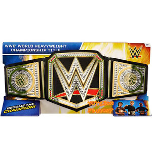WWE World Heavyweight Championship Adult Youth Kid Child Toy Champion Title Belt