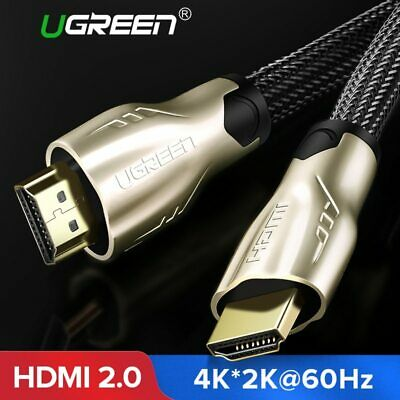 Ugreen Best Quality HDMI Cable Gold Plated Connector For 4k Multimedia TV PS4