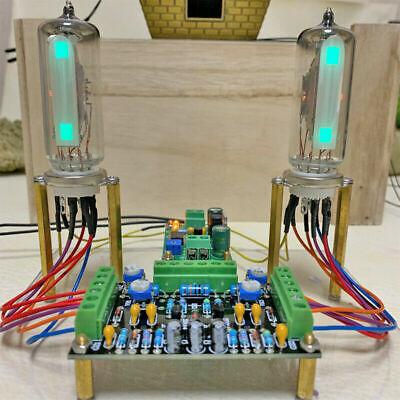 Magic Eye 6e16e2 Tube Vu Meter Driver Board Stereo Audio Sound Level Indicator