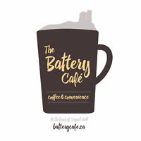 The Battery Cafe: Looking for Managers, Baristas, Bakers/Cooks