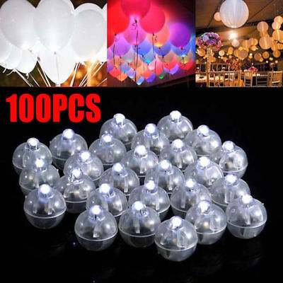 100pcs LED Ball Lamps Balloon Light for Paper Lantern Wedding Party Decoration - Lanterns For Party Decorations