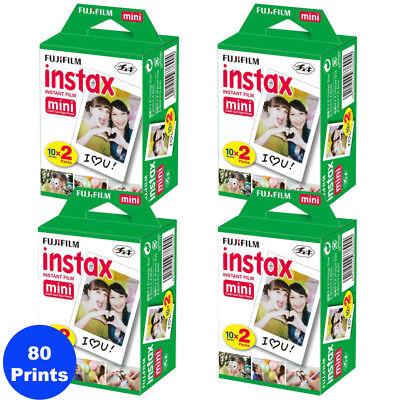 80 Sheets Fujifilm Instax Mini Twinkling of an eye Film for Fuji 9, 8, 90, 70 & Pol Mini 300