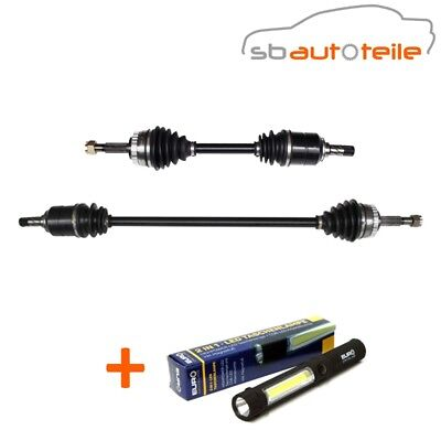2x Antriebswelle links rects vorne OPEL Combo Corsa Meriva B C Schaltgetriebe