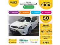 Ford Focus RS FROM £104 PER WEEK!
