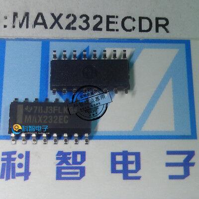 5pcs Max232ec Dual Rs-232 Driverreceiver Max232ecdr Sop16-3.9