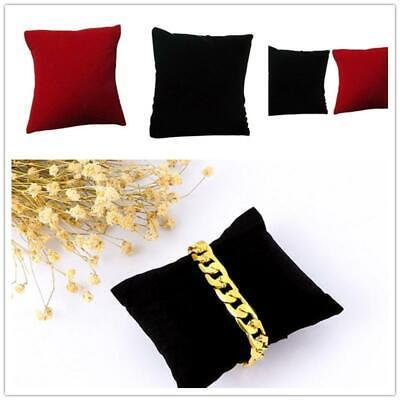 10x Velvet Bracelet Small Pillow Cushion Watch Jewelry Display Holder Practical