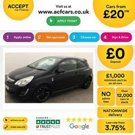 Vauxhall/Opel Corsa 1.2i FROM £20 PER WEEK.