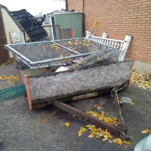 9 ft Project utility trailer
