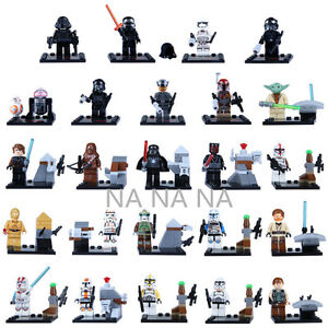 Star Wars characters, 24pcs, Lego compatible