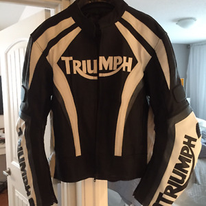 Triumph Leather Racing Jacket