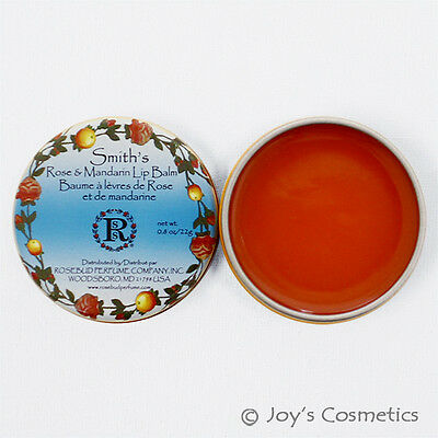 Mandarin Lip Balm - 1 ROSEBUD Smith's Rose&Mandarin Lip Balm Tin 0.8 oz