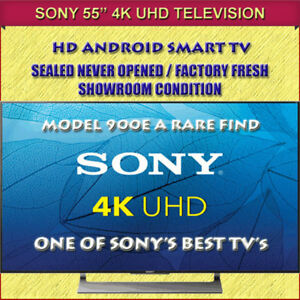 "BRAND NEW FACTORY FRESH 55"" SONY 4K HD ANDROID SMART TV"