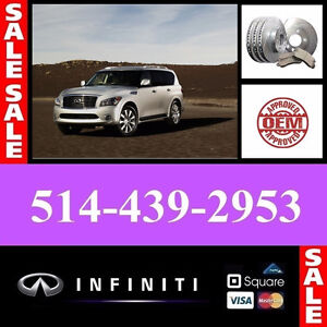 Infiniti QX56 ■ Bearings, Calipers ► Roulements, Étriers