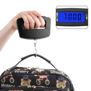Portable LCD Digital  Hanging Luggage Weight Electronic Scale