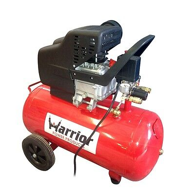 Warrior 240v 24ltr Air Compressor 7Cfm