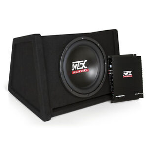 "Subwoofer Single System 12 "" Loaded et Amplified Enclosed"