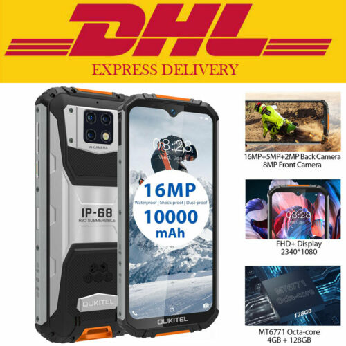 """6.3"""" OUKITEL WP6 4G LTE Rugged Android Smartphone Waterproof"""
