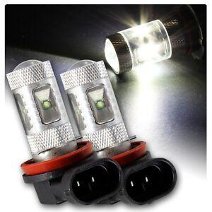 H11 LED HID White CREE Bulbs Globe Toyota Aurion Fog Light Camry Corolla