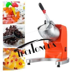 110V Commercial Industrial Ice Shaver Machine Electric Snow Cone Maker 152281