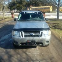 2003 Ford Explorer Sport Trac Pickup Truck safetied and e-tested