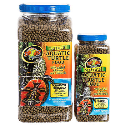 Zoo Med Natural Aquatic Turtle Food - Growth Formula Natural Aquatic Turtle Food