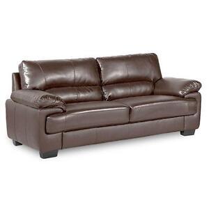 Leather 3 Piece Suite Ebay