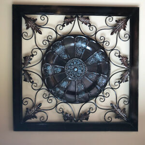 Large Metal Wall Art/ Wall Grate