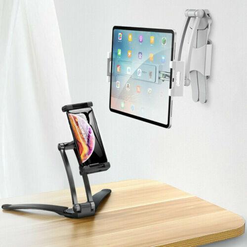 adjustable desktop phone tablet holder install lazy