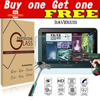 Tablet Tempered Glass Screen Protector Cover For Visual Land Prestige Elite 10Q