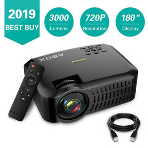 LED PROJECTOR 720P 1080P SUPPORTED UPDATED 2019 MODEL