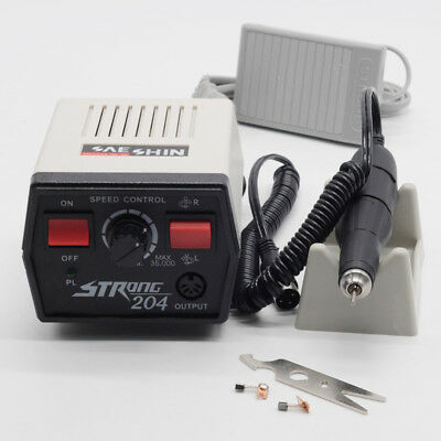 Micromotor Machine Strong 204102l Handpieces Jewelry Tools 220v For Dentist Lab
