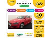 Audi TT Coupe 2.0T FSI 2009MY FROM £45 PER WEEK!